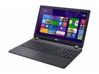 ACER E15/ INTEL 2.16 GHz/ 4 GB Ram/ 1TB HDD/ HDMI / WEBCAM/ USB 3.0/ BLUETOOTH/ WIN 10