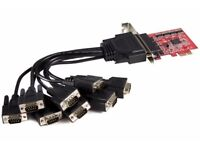 Startech 8 Port RS232 Card PCI-E
