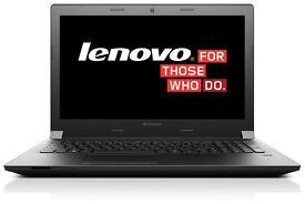 New- Lenovo B50 Quad Core Laptop, 8GB RAM, Radeon R5 3GB 4K, Windows 10 Home, Office 2010 Word Excel