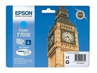 Epson T7032 Cyan Original Cartridge