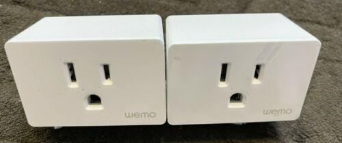 Set of 2 WEMO Wifi Smart Plug Homekit Compatible, New, open Box