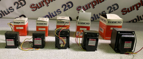 Lot of 5 Hammond Transformers 170 170A 170B 170D *See Details