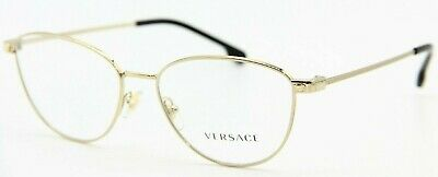NEW VERSACE MOD. 1253 1252 BLACK GOLD AUTHENTIC EYEGLASSES RX MOD.1253 54-16