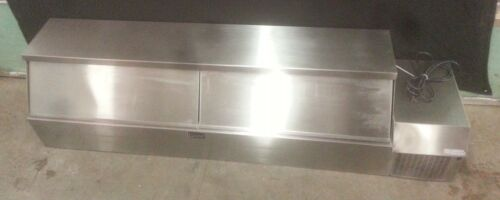 Randell CR9080 S/C Counter top-Raised Rail Toppings Bar *USED*
