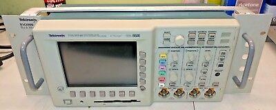 Tektronix Tds3014b Four Channel Color Digital Phosphor Oscilloscope With Rm3000