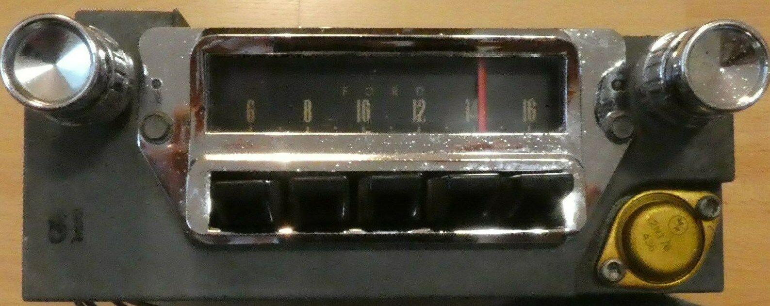 Original Equipment Manufacture 1965 Ford Mustang AM radio
