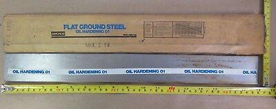 O1 Tool Steel Sheet 564 X 2 X 18 Simonds Flat Ground Steel Oil Hardening