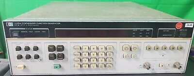 Hp Hewlett-packard Model 3325a Vintage Synthesizerfunction Generator