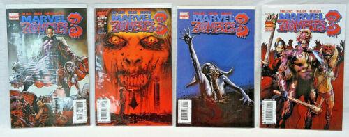 Complete Set of Marvel Zombies 3 1-4 1 2 3 4 Avengers Greg Land