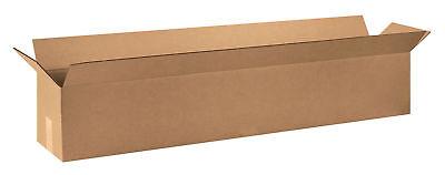 20 48x8x8 Cardboard Shipping Boxes Long Corrugated Cartons