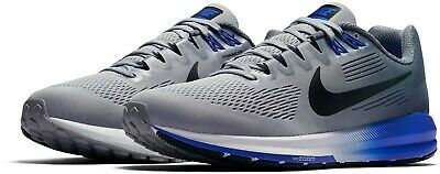 Nike Air Zoom Structure 21 UK 13 Wolf Grey Black Light Carbon 904695-003