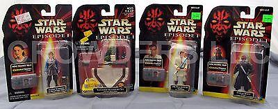 Star Wars Episode 1 DARTH MAUL PADME OBI WAN KENOBI & TATOOINE ACCESSORY SET NIP (Padme Lightsaber)