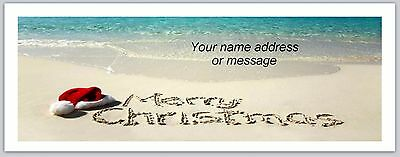Personalized Address Labels Beach Christmas Buy 3 Get 1 Free Bo 878