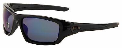 Oakley Valve Sunglasses OO9236-12 | Polished Black | Deep Blue Polarized (Black And Blue Sunglasses)