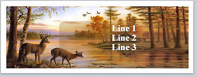 Personalized Address Labels Deer Lake Scene Buy 3 Get 1 Free Bx 195