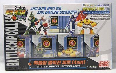 TAKARA ROCKMAN EXE (Mega Man) : Battle Chip Collection 4 Sets with Figures