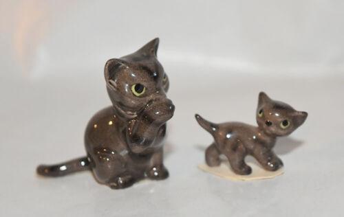 Hagen Renaker Miniature Cat Figurines Striped