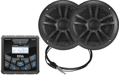 ボスMCKGB450B.6マリンラジオ、ブラック6.5