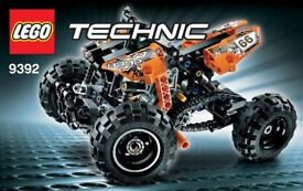 NEW! Lego Technic 9392