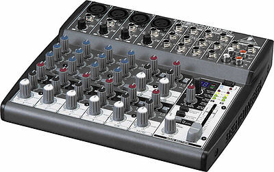 Behringer XENYX 1202FX 12-Input Mixer Board w/Effects DJ Equipment VIP Pro Audio. Buy it now for 139.99