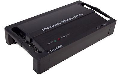 POWER ACOUSTIK RZ1-1500D CAR MONO CLASS D 1500W RAZOR AMP AMPLIFIER+REMOTE KNOB