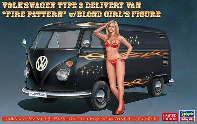 Hasegawa 1/24 Volkswagen Type 2 Delivery Van Fire with Blonde Girls kit SP464