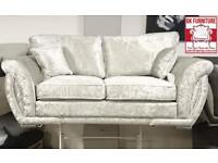 FABRIC/CRUSH VELVET*GHOSHI SHANN0N SOFA* LUXURY SOFA CHEAPEST PRICE 3+2/Corner sofa 9