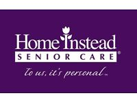 Home Instead Caregivers Required. Caring, compassionate people required. 1 hour minimum visit time.