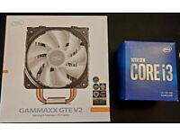 CPU Intel 10th gen Core i3-10100 4 Cores 8 Threads + DeepCool Cooler GTE V2