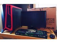 Gaming PC + Gaming Monitor + Much more! Must See!