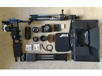 Professional filming kit for beginners