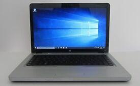 "15.6"" Laptop HP and travel bag - Windows 10, Office 2007, 120gb SSD, 4gb RAM"