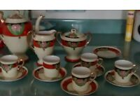 Old Chinese Coffee Set