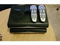 SKY+HD BOXES / CONTROLS