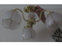 Lounge light fitting with three lights