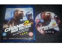 Crank 2: High Voltage (Jason Statham) Unused Bluray, Mint Condition