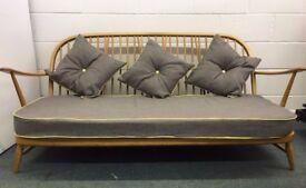 Ercol Windsor Sofa Vintage Stick Back frame Settee