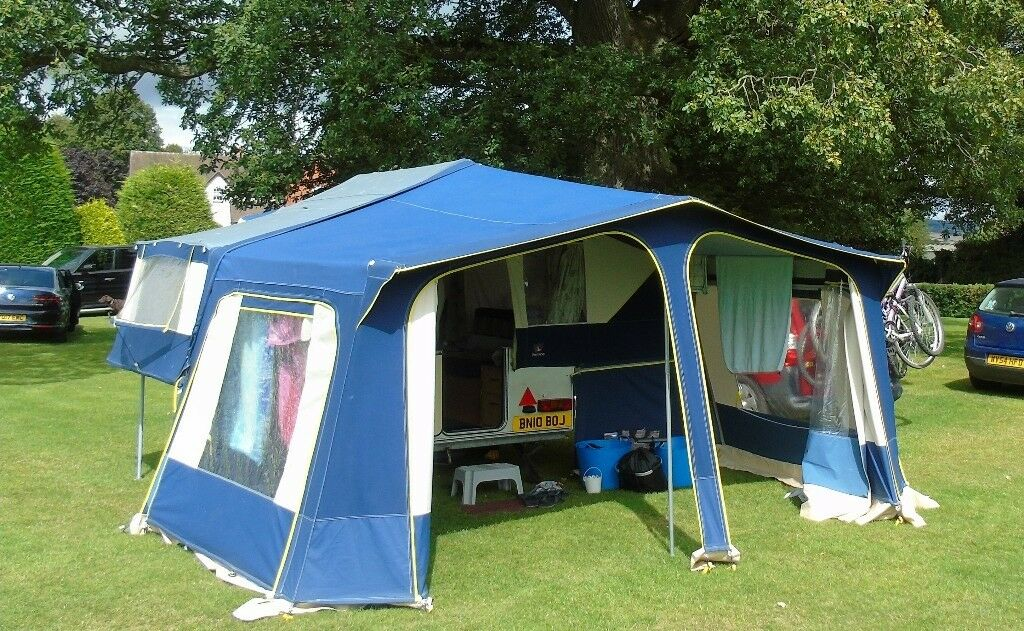 Folding Camper Pennine Fiesta 4 Berth Excellent Condition
