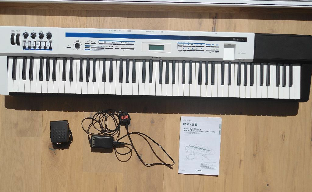 casio privia px 5s manual