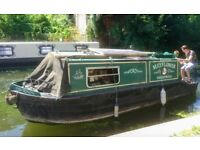 Canal Boat for sale