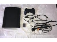 PS3 Superslim 500GB including games