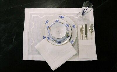 Luxury Linen table placemat And Napkin