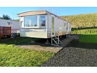 Atlas Nevada 1998 Static Caravan sited at Blackadder Holiday Park, Greenlaw. Ideal Startup Van