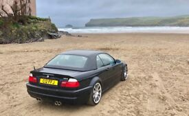 * STUNNING* BMW E46 M3 Convertible with Hard top