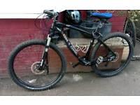 On one carbon mountain bike
