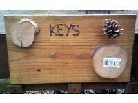Rustic Key Holders