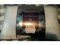 NEW Pack of 2 Slumber down pillows
