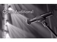 Last Minute Singing Auditions This Weekend!