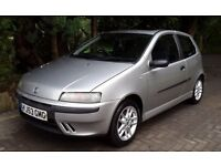 2003 53 FIAT PUNTO 1.2 SPORTING 6 SPEED MODEL ~1 OWNER CAR~LONG MOT~PART EX TO CLEAR~GOOD SPEC CAR~