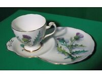 CUP WITH BISCUIT/CAKE SAUCER